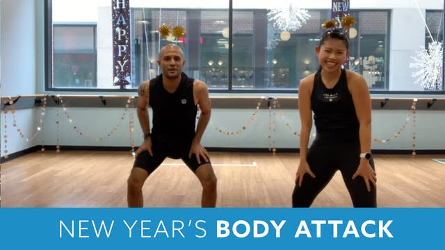 New Year's BODYATTACK with Tomas & Ja...