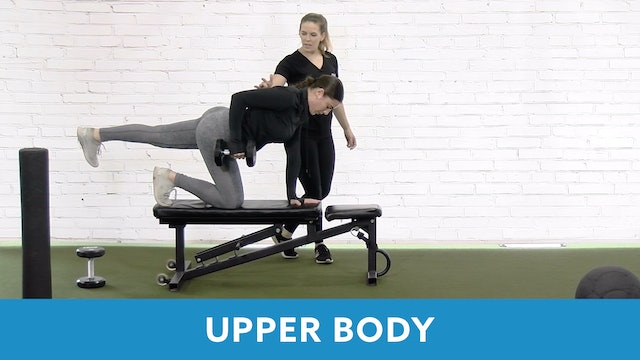 Restart Challenge - Upper Body with Lacey