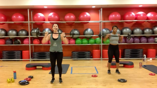 BODYPUMP with Nathalia