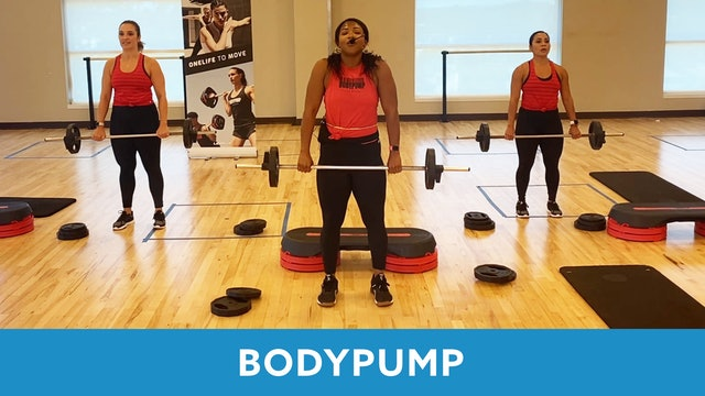 Transformation Challenge (Week 5 Workout 2) BODYPUMP with Shay