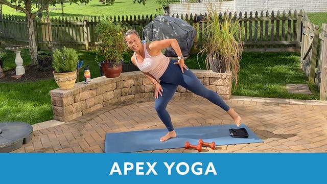 APEX YOGA with JoAnne (LIVE Monday 10...