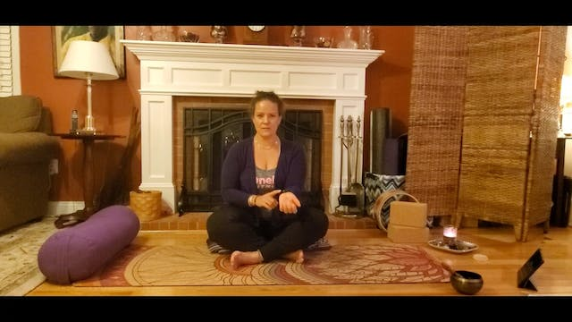 Fireplace Yin Yoga with Morgan (LIVE ...