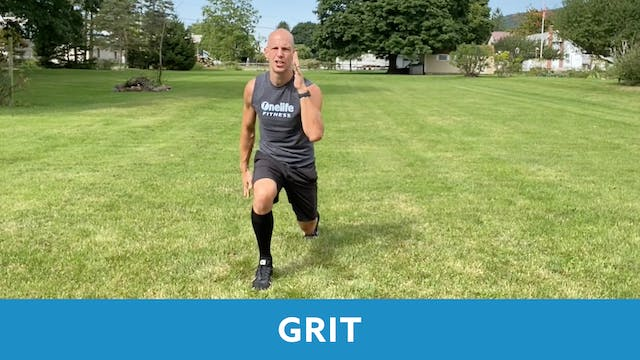 GRIT Cardio with Bob (LIVE Thursday 1...