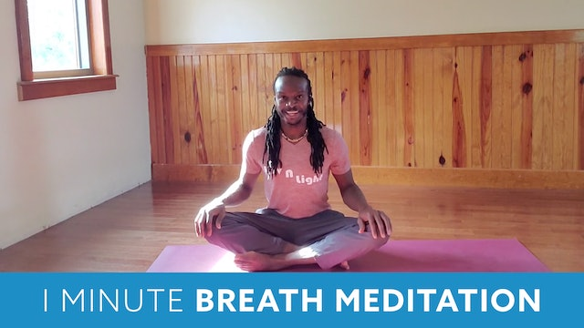 One Minute Breathing Meditation with Marlon