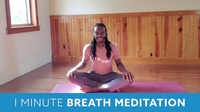 One Minute Breathing Meditation with...