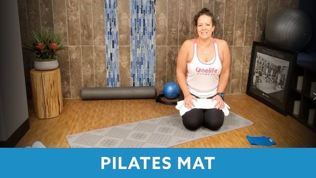 Pilates Mat and a Towel with Morgan (...