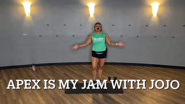 APEX HIIT is My Jam with JoAnne (LIVE...