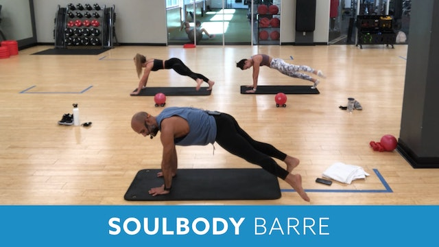 14Day Challenge Day 7 - SOULBODY BARRE with Tomas