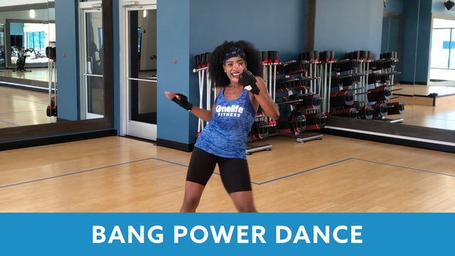 BANG Power Dance with Linda (LIVE Tuesday 8/4 @ 5:00pm EST)