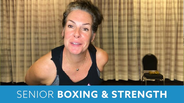 Senior Fitness Boxing & Strength with...