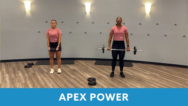 APEX Power with Sam and JoAnne - AUGUST