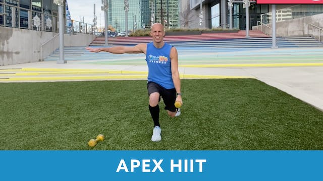 APEX HIIT with Bob (LIVE Monday 1/4 @...
