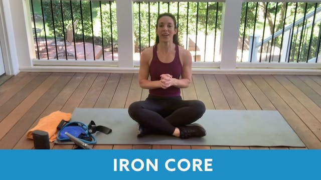 Iron Core with Allison - SEPTEMBER