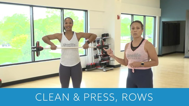Clean & Press and Row Tips with JoJo and Sam