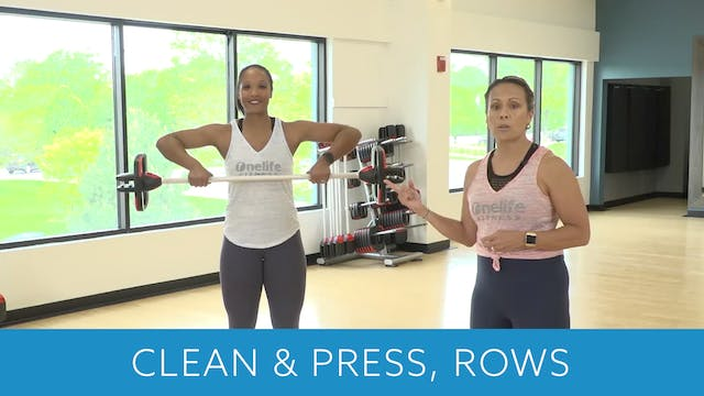 Clean & Press and Row Tips with JoJo ...
