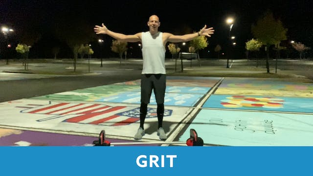 Grit Strength 31 with Bob (LIVE Wedne...