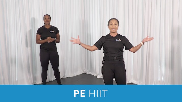 PE HIIT 20 Minutes Workout #2 with JoJo and Sam
