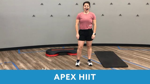 APEX HIIT with Mary (LIVE Friday 3/5 ...