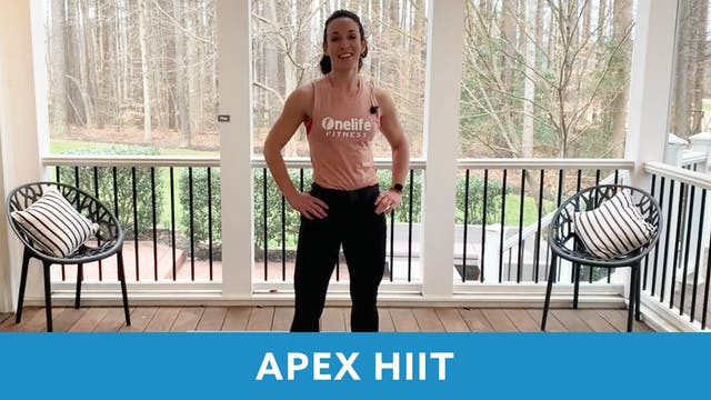 APEX HIIT Animal Movements with Allis...