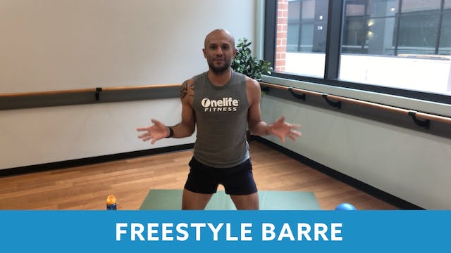 Freestyle BARRE with Tomas (LIVE Thur...