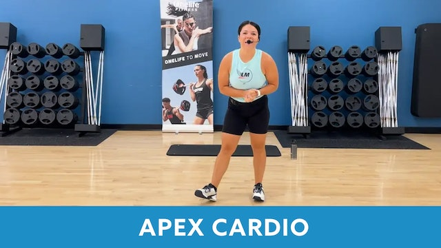 APEX Cardio with Mary - SEPTEMBER