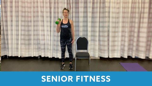 Senior Fitness with Juli (LIVE Monday...