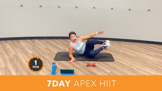 7day Minute to Win It Challenge - APEX HIIT with Mary