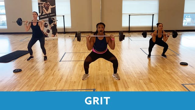 TONE UP 21 WEEK 8 - GRIT Strength wit...
