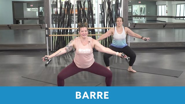 Barre with Erin and Morgan