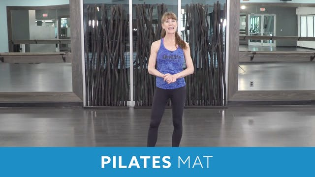 TONE UP 21 WEEK 6 - Pilates with Heidi