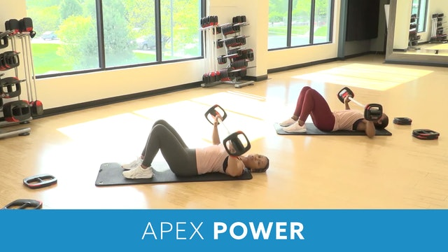Apex Power Barbell Training #2 with JoAnne