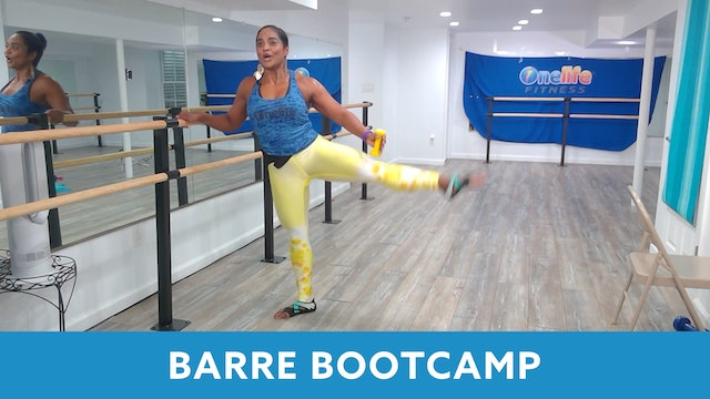 Barre Bootcamp with Shahana (LIVE Thursday 8/6 @ 5:00pm EST)