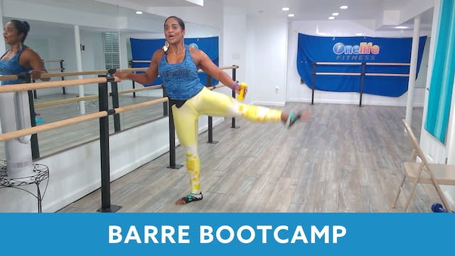 TONE UP 21 WEEK 6 - Barre Bootcamp wi...