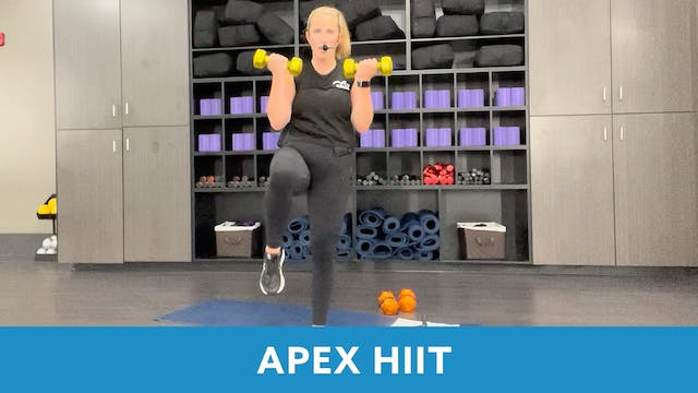 APEX HIIT with Tracy