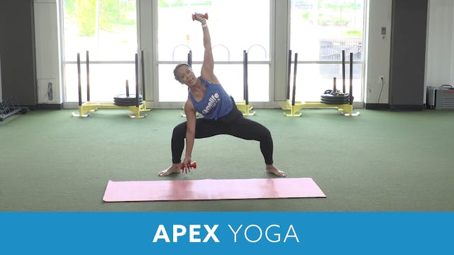 Day 6 - Advanced APEX YOGA #4 with JoJo