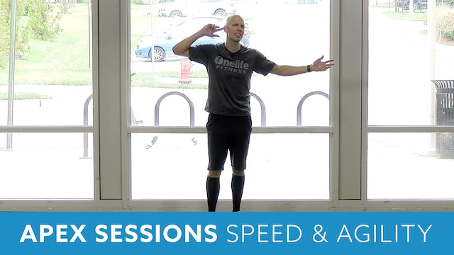 APEX Sessions Speed & Agility Workout with Bob