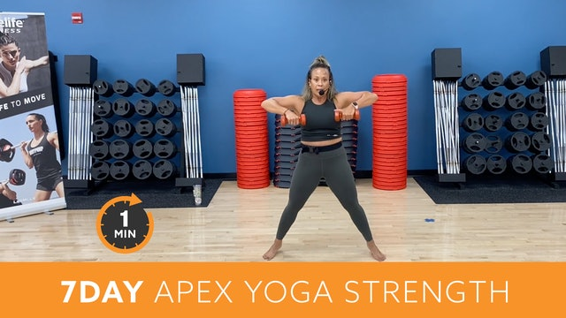 7Day Minute to Win It Challenge - APEX Yoga Strength with JoAnne