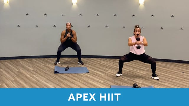 APEX HIIT #44 with JoJo  (LIVE Tuesda...