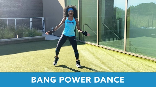 BANG Power Dance with Linda (LIVE Wednesday 10/7 @ 5:00pm EST)