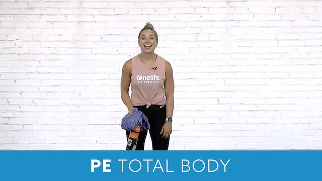 PE Total Body 15 Minute Workout with Caroline