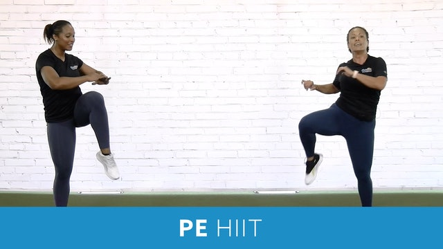 PE HIIT Workout 20 Minutes with JoJo and Sam