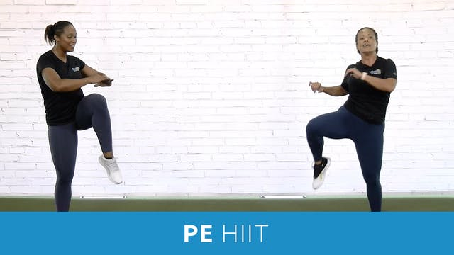 PE HIIT Workout 20 Minutes with JoAnn...