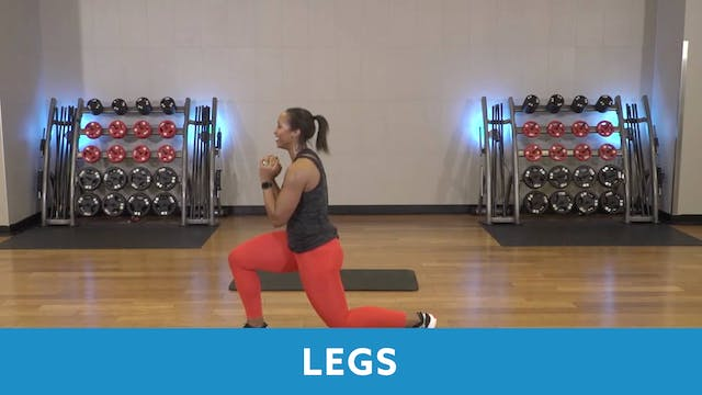 Day 7 - Intermediate Part 2 - Legs wi...