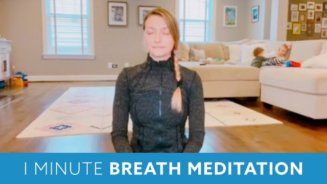 One MInute Meditation with Carli