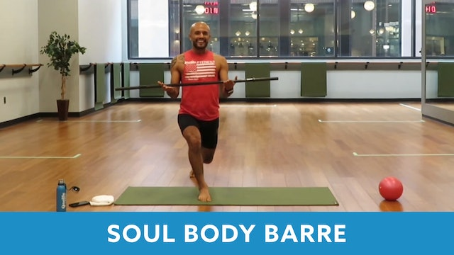 14Day Challenge Day 12 - SoulBody Barre Unhitched with Tomas