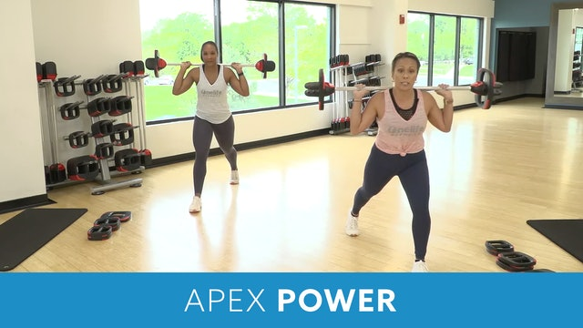Apex Power Barbell Training #1 with JoAnne