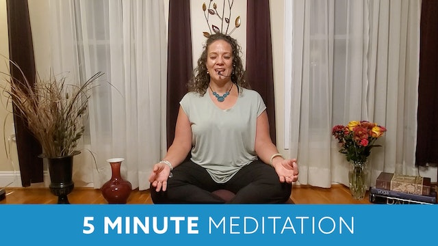 Five Minute Meditation with Morgan