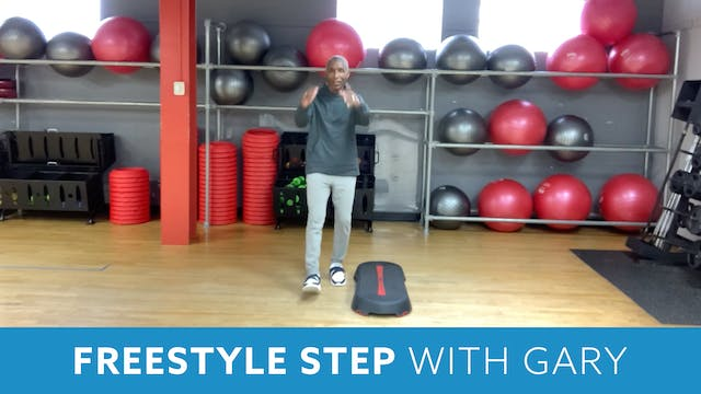 Freestyle Step with Garry (LIVE Tuesd...