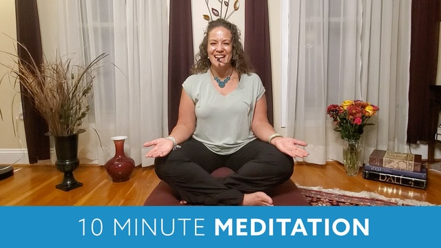 Ten Minute Meditation with Morgan