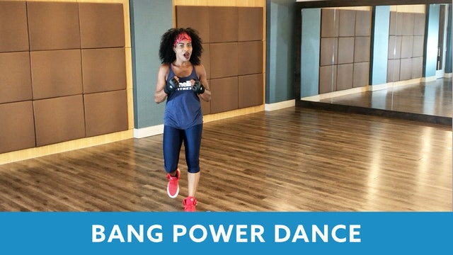 BANG Power Dance with Linda (LIVE Friday 8/7 @ 5:00pm EST)